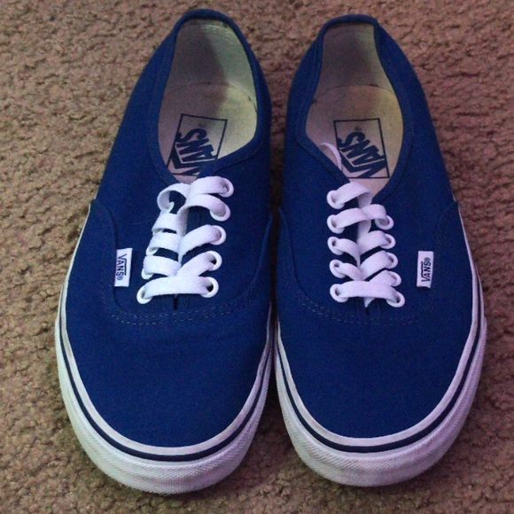 royal blue vans mens